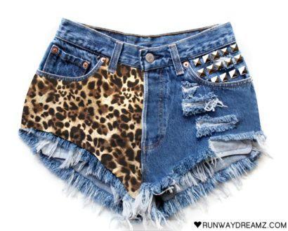 shorts animal print customizado