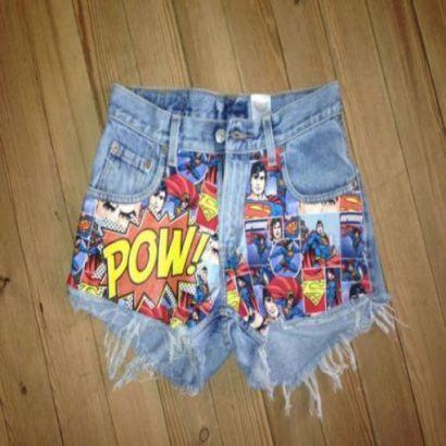 shorts customizados com estampas