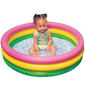piscina de bebe redonda Piscina redonda para bebê opções para diversão