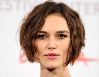cabelos repicados ondulados curtos fashion