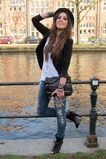 calca destroyed feminina 11 Como usar CALÇA BOYFRIEND DESTROYED feminina da moda