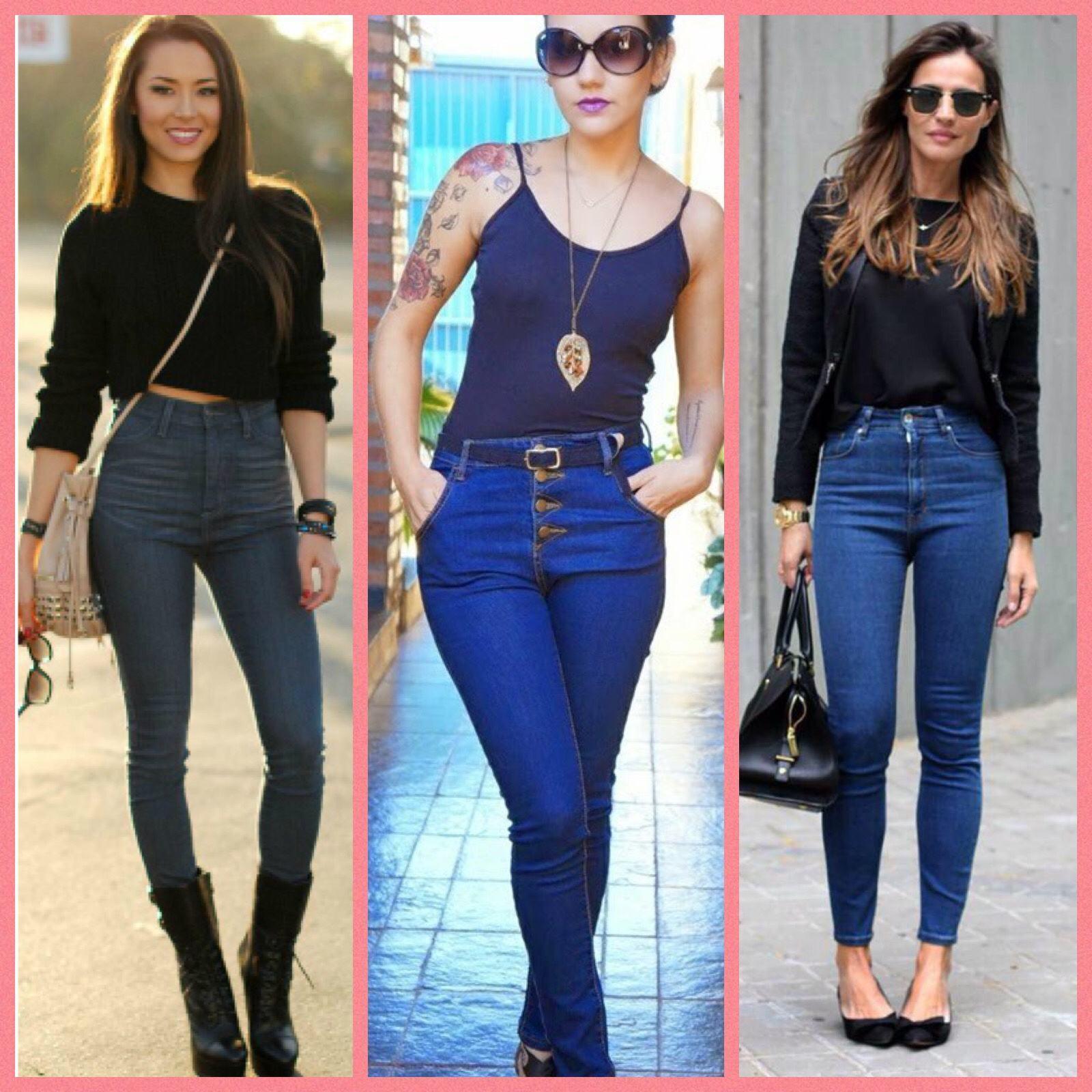 a69a1c7813 Calças jeans que vestem bem e estão super na moda