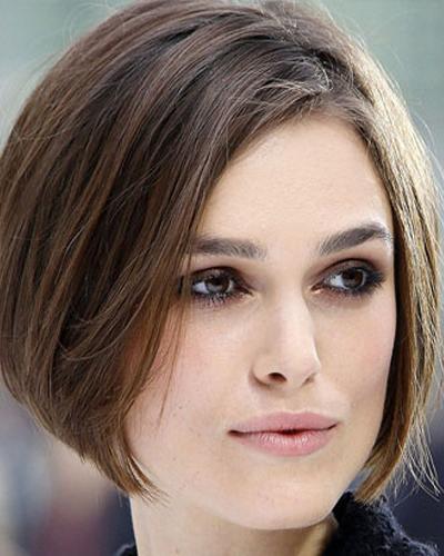 cortes de cabelo curtos chanel para cabelo castanho