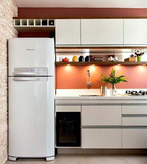 imagem 1 1 490x545 Apartamentos pequenos decorados, A sala, A cozinha e Quarto