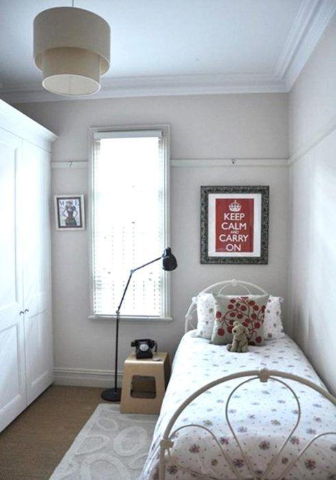 imagem 10 1 490x700 Apartamentos pequenos decorados, A sala, A cozinha e Quarto