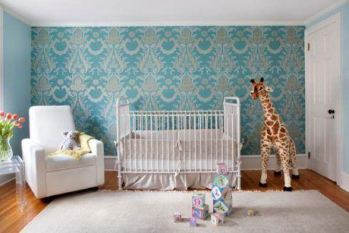imagem 18 490x327 PAPÉIS DE PAREDE para quarto de bebê menino e menina