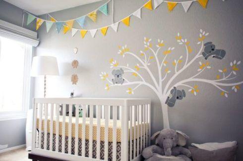 imagem 20 1 490x326 PAPÉIS DE PAREDE para quarto de bebê menino e menina