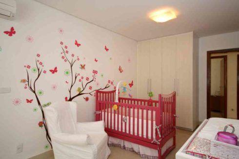 imagem 23 490x327 PAPÉIS DE PAREDE para quarto de bebê menino e menina