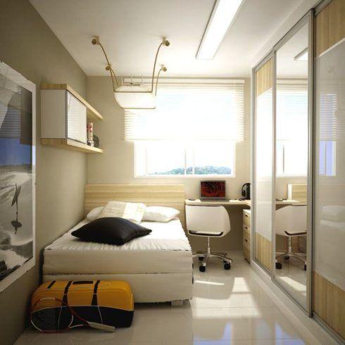imagem 9 1 490x490 Apartamentos pequenos decorados, A sala, A cozinha e Quarto