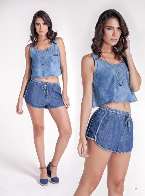 imagem 9 4 490x661 Como usar top cropped com saia, calça e shorts (30 looks da moda)