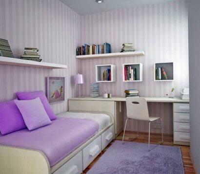 nichos para quarto de solteiro de menina 410x356 NICHOS PARA QUARTO DE SOLTEIRO para decoração : Ela e ele