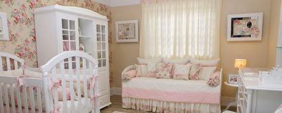 papeis de parede para quarto de bebe com flores 410x165 PAPÉIS DE PAREDE para quarto de bebê menino e menina