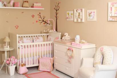 papeis de parede para quarto de bebe feminino fotos 1 410x273 PAPÉIS DE PAREDE para quarto de bebê menino e menina
