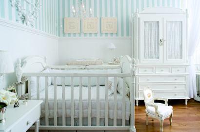 papeis de parede para quarto de bebe masculino listrados 410x270 PAPÉIS DE PAREDE para quarto de bebê menino e menina