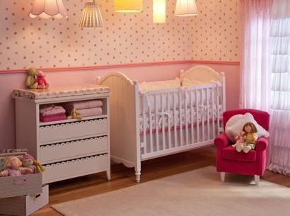 papeis de parede para quarto de bebe menina 410x305 PAPÉIS DE PAREDE para quarto de bebê menino e menina