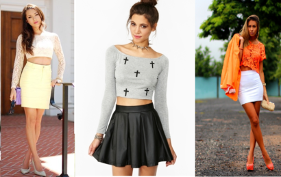 top cropped looks