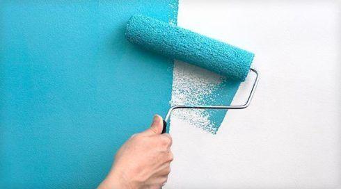 aprenda a como pintar uma parede
