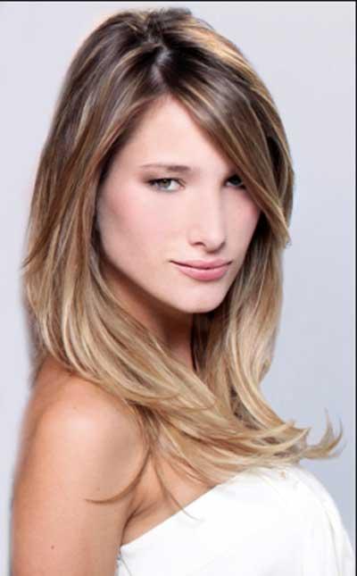 cabelo degrade e franja lateral Lindos Cortes de cabelo degradê para você se inspirar