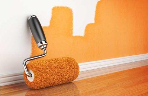 como pintar uma parede