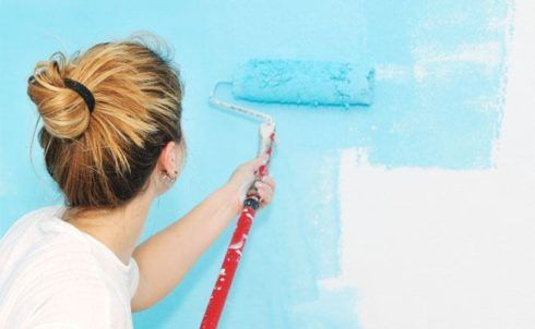 como pintar uma parede passo a passo