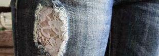 Como remendar calças jeans e personalizar a peça