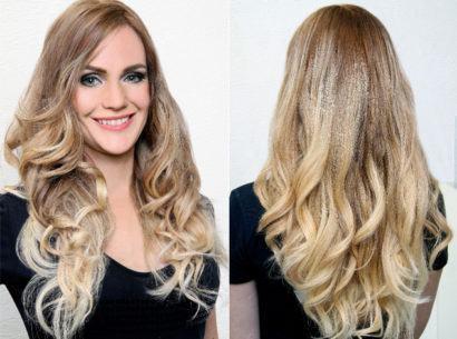 cortes de cabelo degrade com cachos 410x305 Lindos Cortes de cabelo degradê para você se inspirar
