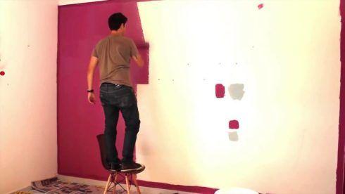 dicas fáceis de como pintar uma parede