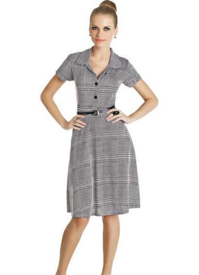 fotos vestidos evangelicos 410x567 Vestidos para ir a igreja modelitos maravilhosos