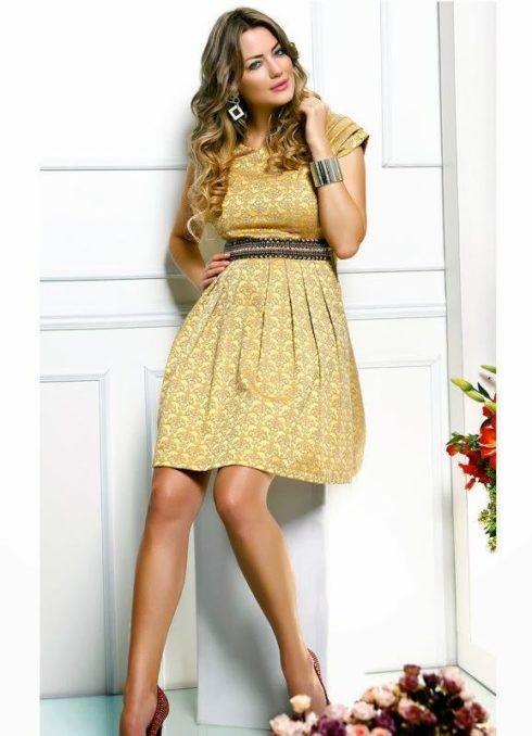 imagem 26 2 490x678 Vestidos para ir a igreja modelitos maravilhosos