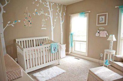lindos modelos de quartos de bebês modernos