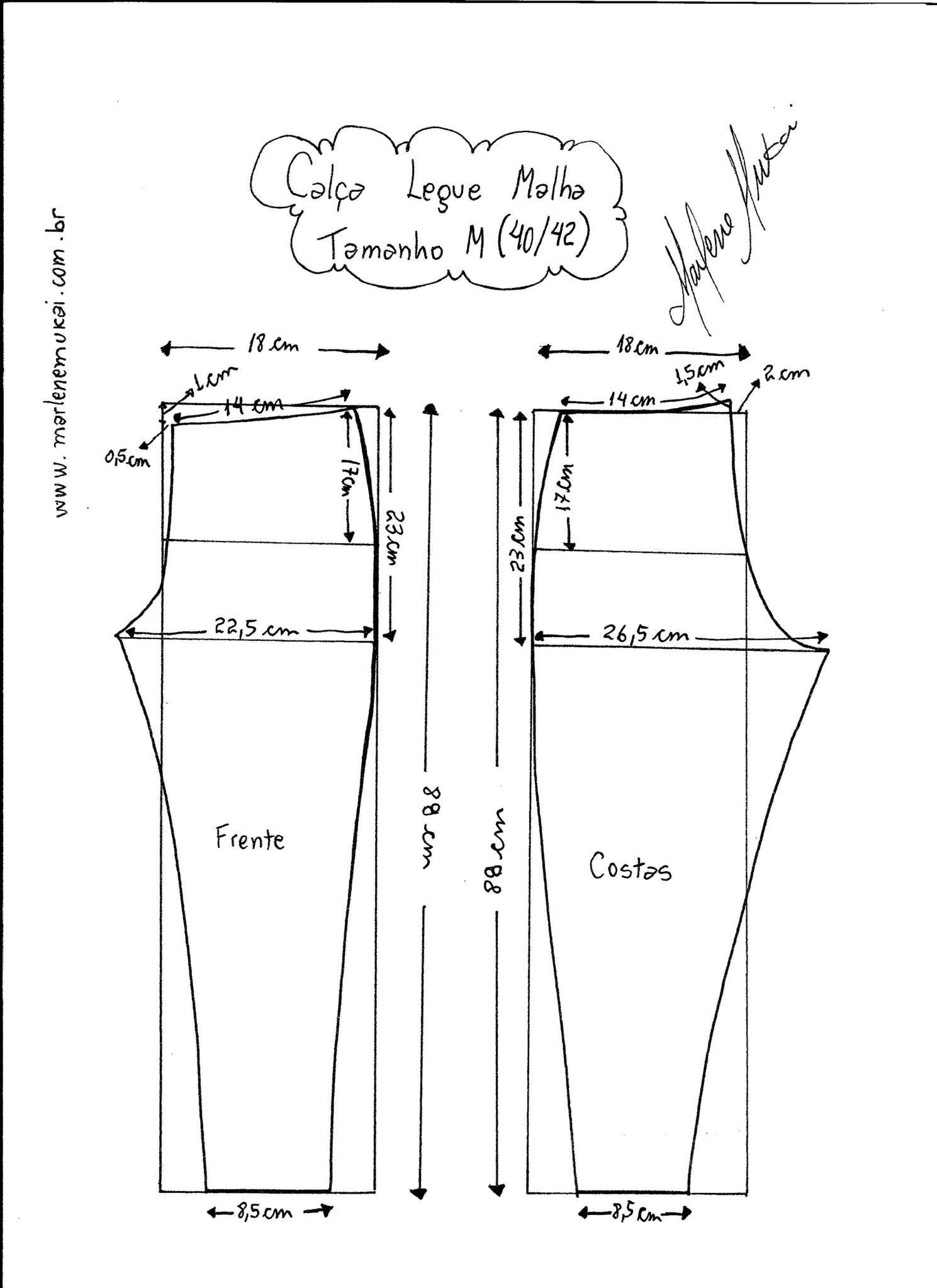 Molde calca moletom feminina para corte e costura wiki for Imprimir fotos baratas