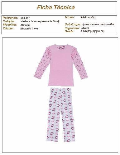 molde de pijama de moletom feminino