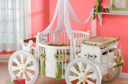 quartos de bebês criativos com berço diferenciado