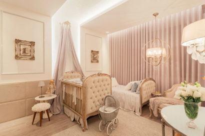 quartos de bebês decoração estilo real