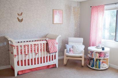 quartos de bebês decoração moderna pequenos