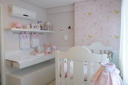 quartos de bebês decorados delicados