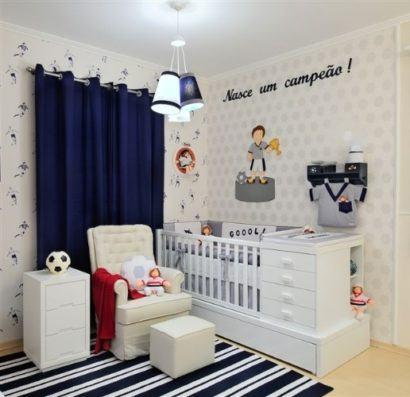 quartos de bebês decorados para meninos