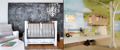quartos de bebês diferentes
