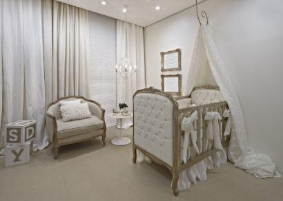 quartos de bebês estilo clássico chique
