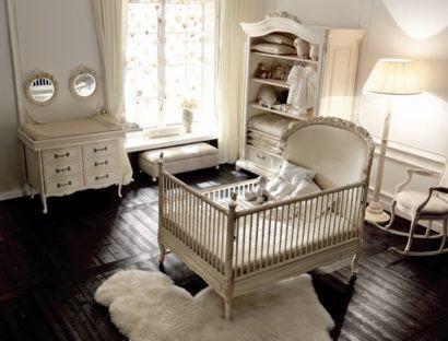 quartos de bebês estilo clássico unissex