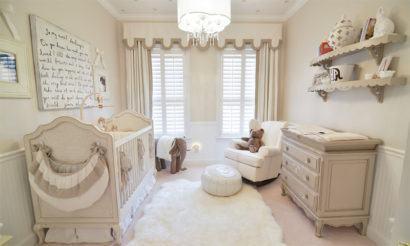 quartos de bebês estilo clássico vintage