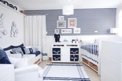 quartos de bebês estilo esportivo para meninos