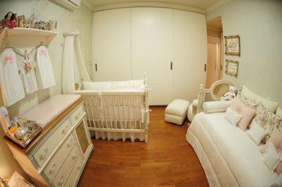 quartos de bebês estilo romântico