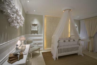 quartos de bebês estilo romântico delicados