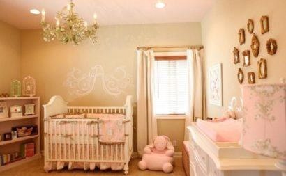 quartos de bebês estilo romântico para meninas