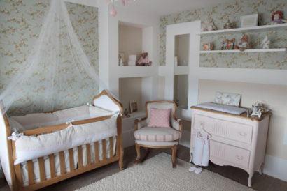 quartos de bebês estilo romântico simples