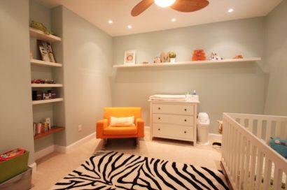 quartos de bebês modernos decorados