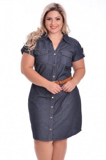 vestido jeans plus size evangelico Vestidos jeans evangélicos belos e perfeitos