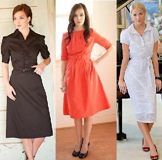 vestidos para ir a igreja para mulheres maduras 1 Vestidos para ir a igreja modelitos maravilhosos