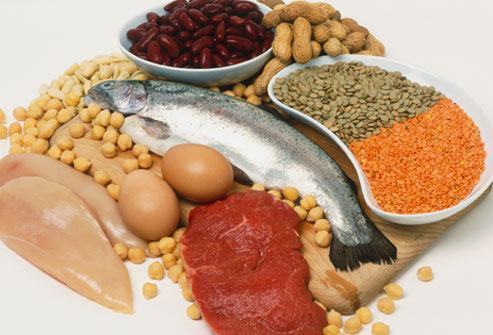 Tabela de alimentos com proteínas para a sua dieta